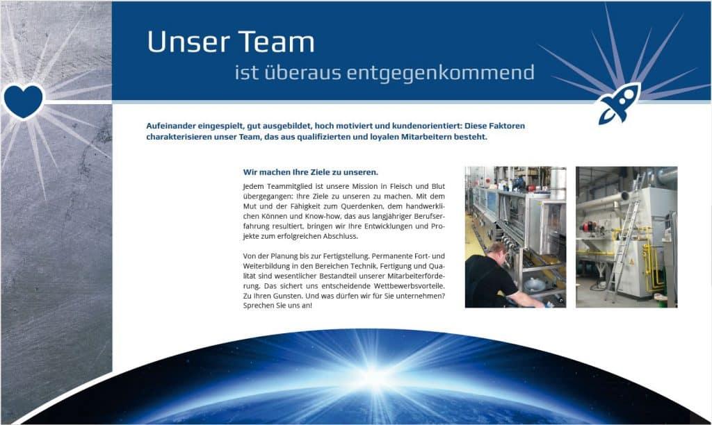 Imagebroschüre von Berendes Metalltechnik Team