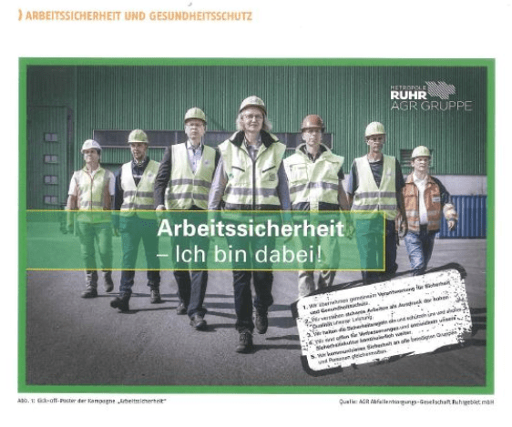 AGR Mitarbeiterkampagne Arbeitssicherheit