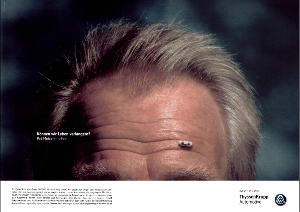Produktanzeige von ThyssenKrupp Automotive zum Thema Langlebigkeit