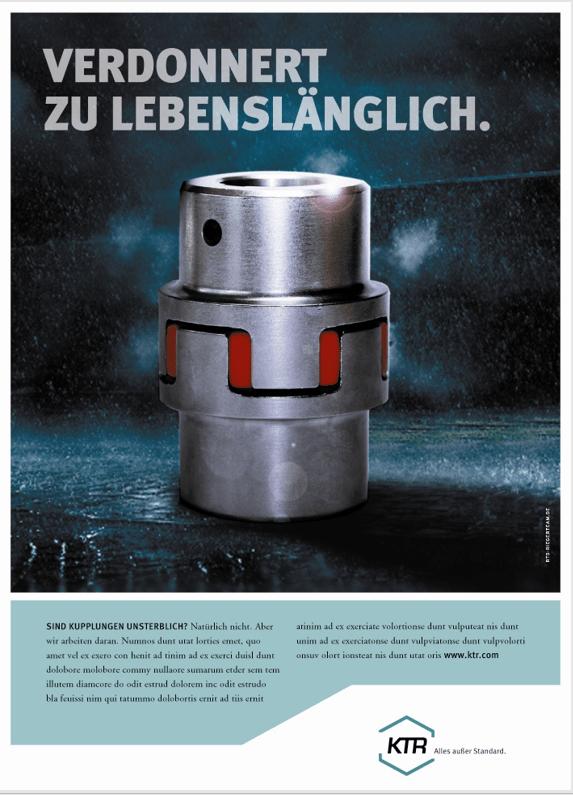 Prodktanzeigen von KTR Rheine Langlebigkeit