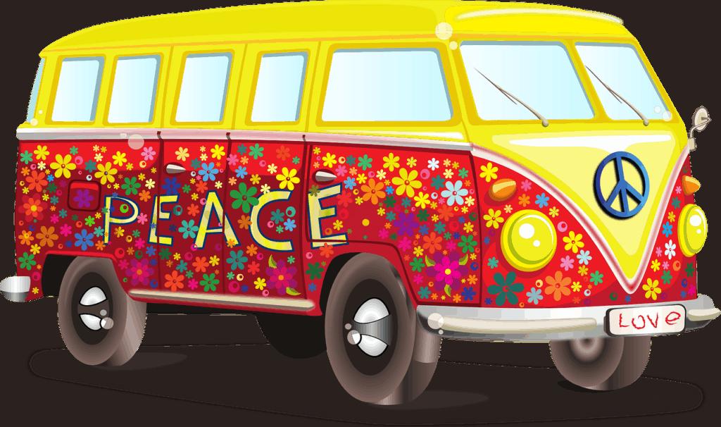 Illustration Customer Journey Hippie-Bully