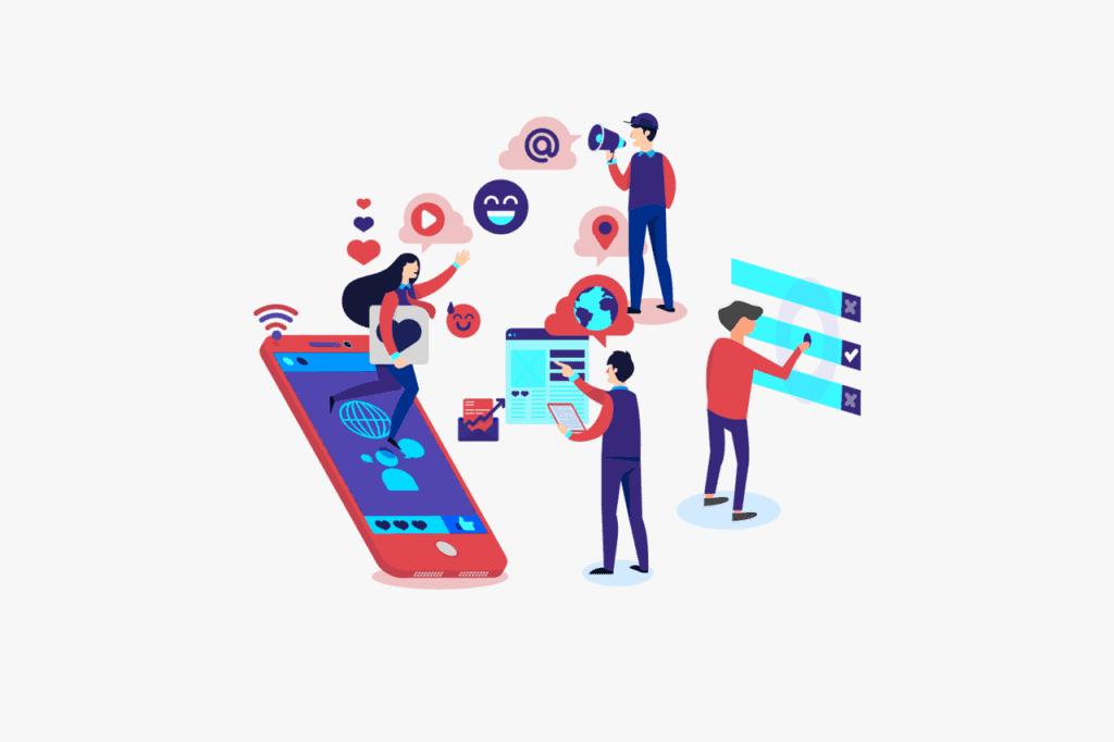 Illustration einer unstrukturierten Customer Journey